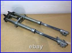 89 90 Yamaha YZ125 YZ250 YZ 250 125 Front Forks Triple Shock Tube Leg Suspension