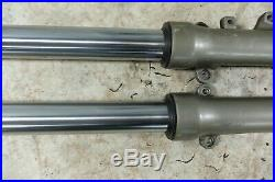 92 Yamaha XJ 600 XJ600 Seca II 2 front forks fork tubes shocks right left