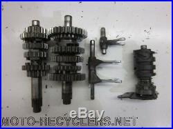 97 YZ125 YZ 125 Transmission Gears forks shifter tube 46