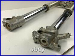 98 Yamaha YZ125 YZ250 YZ 125 250 Front Forks Tube Leg Shocks Triple Tree Clamps