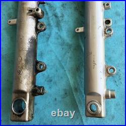 99 00 01 02 Yamaha Yzf R6 Both Front Fork Shock Suspension Tubes Set Pair
