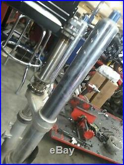 99 00 01 02 Yamaha Yzf R6 Front End Fork Tube Suspension Straight