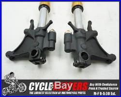 D326 2006 2007 06 07 Yamaha YZF R6R R6 Front Forks Tubes Shocks Legs