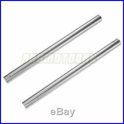 FORK PIPE FOR YAMAHA FZ6 FZ6R 2009-2014 41MM Front Fork Inner Tubes x2 #371