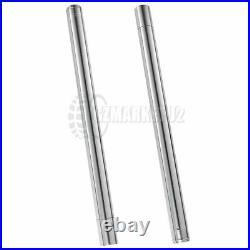 Fork Pipe For YAMAHA FZR1000 3GM 1989 1990 43mm Front Fork Inner Tubes Pair