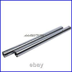 Fork Pipe For YAMAHA XJR1300 5EA 2000 2001 2002 Front Fork Inner Tubes x2 #146