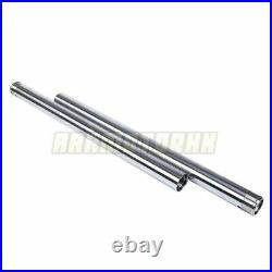 Fork Pipe For Yamaha SR400 2001-2017 02 03 04 05 06 Front Fork Inner Tubes x2