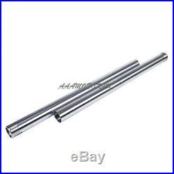 Fork Pipe For Yamaha YBR250 2007 2009 2011 Front Fork Inner Tubes x2