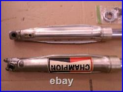 Forks Air Canisters Triple Trees MINT UPPER TUBES 1976 1/2 YZ125X YZ175C 36 mm