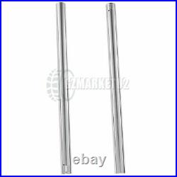 Front Brake Suspension Inner Fork Tubes Pipes For YAMAHA FZR400RR 1990-1992 Pair