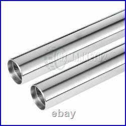 Front Fork Inner Tubes For Yamaha SR400 1978-1999 SR500 1978-1995 XS650 1979-80