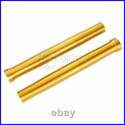 Front Fork Outer Tubes Black Gold Pipes For Yamaha R1 2002 2003 5PW-23136-10-00