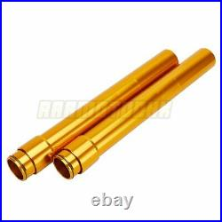 Front Fork Outer Tubes For Yamaha TZR250 3MA 1990 3MA-23136-10-00 450mm Gold