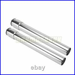 Front Fork Outer Tubes For Yamaha TZR250 3MA 1990 3MA-23136-10-00 450mm Silver