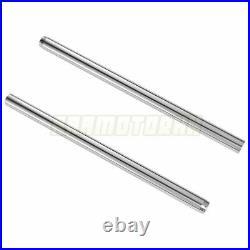 Front Fork Pipes For Yamaha XJ400 1980 XJ550 1981-1982 Fork Inner Tubes Pair