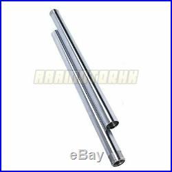 Front Fork Pipes Inner Tubes Pair 41mm For Yamaha XVS950 2009-2017 2010 11 12 13
