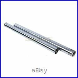 Front Fork Pipes Inner Tubes Pair For Yamaha XVS1100 2003-2011 04 05 06 07 08 09