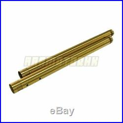 Front Fork Tubes For Yamaha FZ-09 FZ09 2015 2016 Fork Pipe Pair Gold New