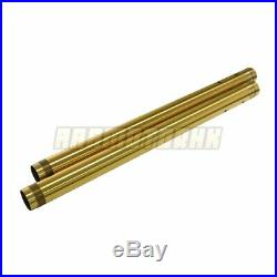 Front Fork Tubes For Yamaha XSR900 2014-2018 Fork Pipe Pair Gold 2015 2016 2017