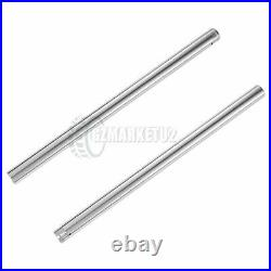 Front Inner Fork Tubes Pipes For Yamaha RZ250R RZ250RR 1984-1985 RD350F 1985