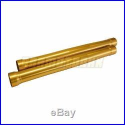 Front Outer Fork Tubes For Yamaha MT09 2014-2017 540mm Gold Fork Pipe 2015 2016