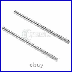 Front Suspension Inner Fork Tubes Pipes For Yamaha RD125LC 1986 RZ125 1985 Pair