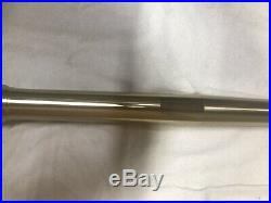 KYB SSS Left Fork Tube, Leg Lug, Axle Bracket, Yamaha OEM 2012 YZ450F Yz 450 250