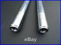 NEW Yamaha RD350lc Fork Tubes Pair (2) Stanchions Chrome RD350 LC 4L1 4L0