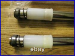 NOS 1981-2016 Yamaha PW50 Y-Zinger Inner Front Fork Tube Set NEW PW 50 Vintage