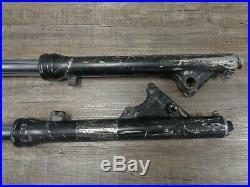 Nice Used Set of Yamaha TRI-Z 250 YTZ250 Tri Z Fork Forks Tubes Strut Shock