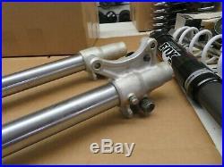 Oem Yamaha Yz85 Front Fork Suspension Tubes Right Left Shocks Damper