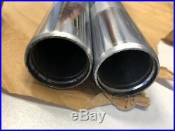 YAMAHA DT250 Standrohr Gabelrohr Satz TUBE INNER FRONT FORK Set 1M1-23124-00