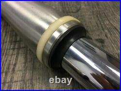 Yamaha 1998-00 XVS650 650 VSTAR OEM Front Left & Right Fork Leg Tubes STRAIGHT