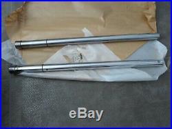 Yamaha 2x Standrohre für DT50M DT50 M Standrohr fork tube inner set Original NEU