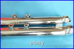 Yamaha DX100 YB100 YL2G L2G Tube Outer Inner Pipe Front Fork LR Pair NOS
