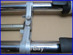Yamaha FJR1300A 2013 29,566 miles forks fork tube stanchions (2988)