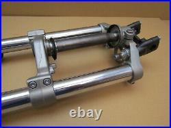 Yamaha MT-07 2014 6,075 miles front forks fork tube stanchions (5246)
