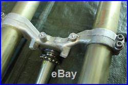 Yamaha R1 RN04 Gabel Front Fork Tubes Forcella Motorrad Gabelbrücke Federgabel
