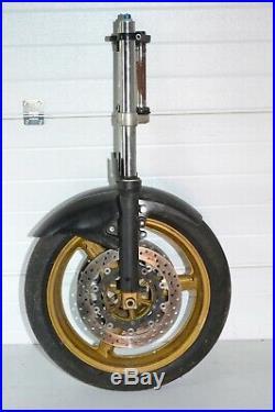 Yamaha R6 Rj03 05 5eb 5sl Fork Tubes Suspension Triple Tree Front Wheel Discs