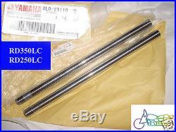 Yamaha RD350LC Fork Inner Tube x2 NOS RD250LC FORK TUBES 4L0-23110-00 FRONT FORK