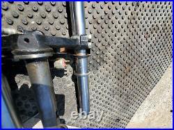 Yamaha TX500 XS500 Showa MCO 671 Front End Forks Tube Triple Tree Brake Caliper