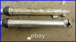Yamaha Tt500 Front Forks Pair Suspension Stanchions Tubes Enduro Twinshock