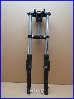 Yamaha YS 125 2020 1,193 miles front forks fork tube stanchions (5236)