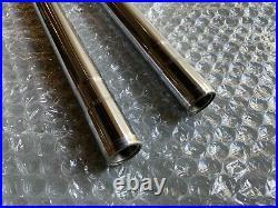 Yamaha YZ400/YZ250 1977-1978 fork tubes Re-plated Rad Hard Chroming 2K823110L0