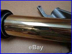 Yamaha YZF-R1M 2017 left Ohlins ESA fork tube stanchion (3204)