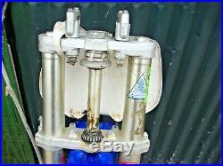 Yamaha Yz 250 1992 Complete Front End Fork Tube S Tree Brake Fender Oem 4da