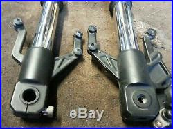 Yamaha Yzf R125 Front Forks Suspension Stanchions Legs Tubes Mint 2014-2018